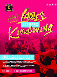 Ladies Kickboxing 2017/2018