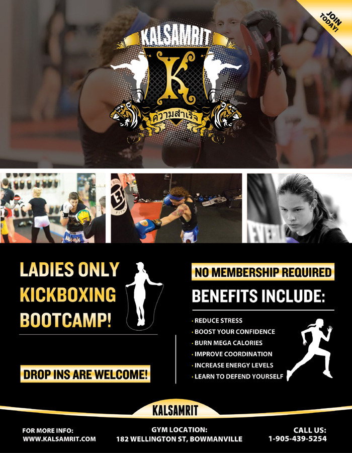 Ladies Kickboxing