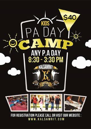 PA Day Camp
