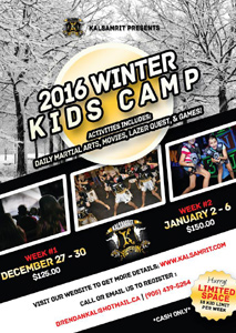 Winter Martial Arts Camp