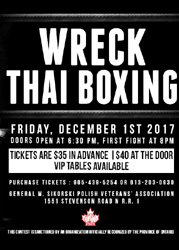 Wreck Thai Boxing