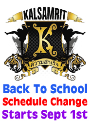 Kalsamrit School Schedule