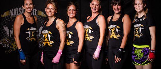Ladies Kick Boxing