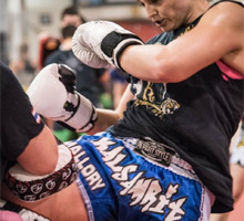 Laides Kickboxing Training