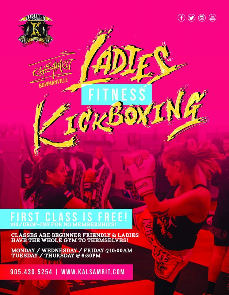 Ladies Kickboxing Port Perry
