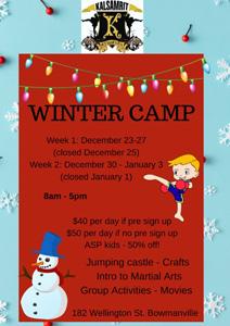 Winter Kid's Camp