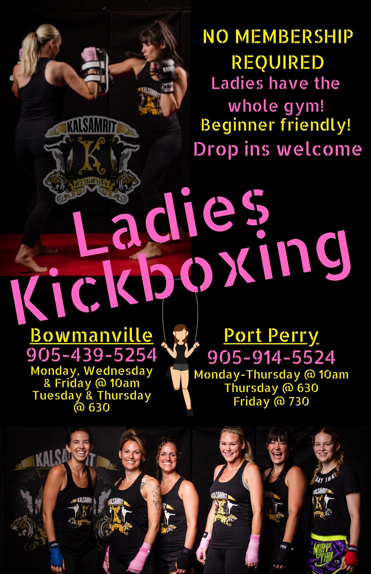 Ladies Kickboxing