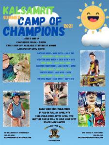 2021 Summer Kids Camp